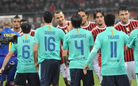 Milan y Barça volverán a verse las caras