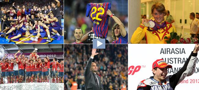 Las imágenes deportivas más destacadas de 2012