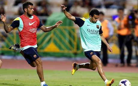 Dani Alves sigue 'tocado'
