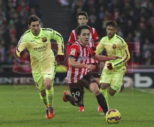 صور : مباراة أتليتيكو بلباو - برشلونة  2-5 ( 08-02-2015 ) 1423435289765