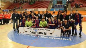 El Barça se proclamó campeón tras superar al Reus en la final