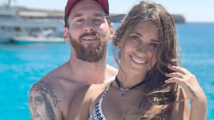 Leo y Antonella ya disfrutan de sus primeros días de vacaciones
