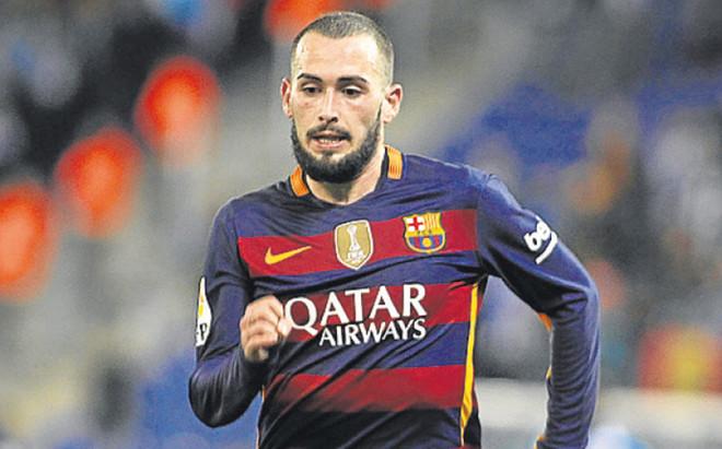 Aleix Vidal, defensa del FC Barcelona, interesa al N�poles