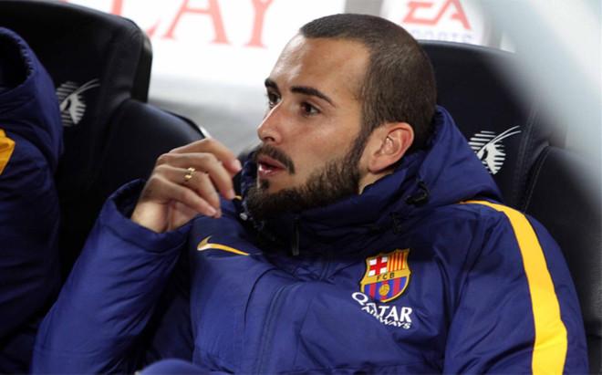 Aleix Vidal entra en la lista para el Betis-Bar�a