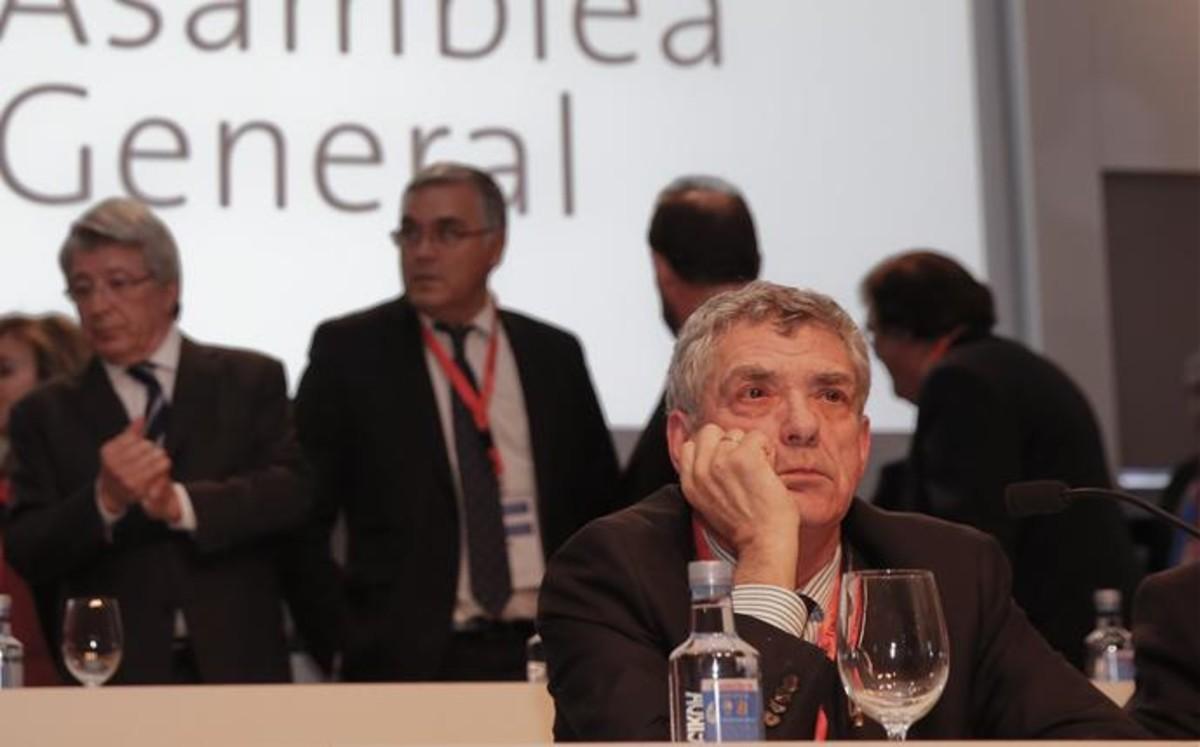Bartomeu, en una Asamblea clave para Villar