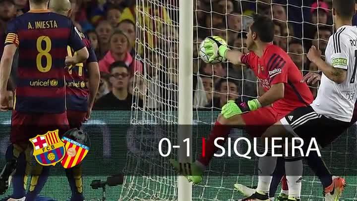 El Barça se queda sin red en la Liga