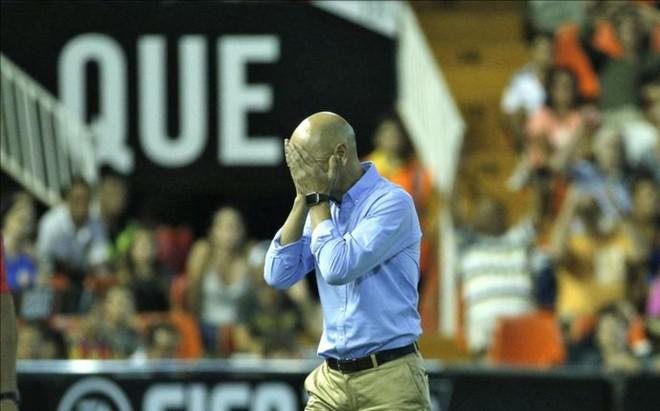 Ayestar�n sufri� con la derrota che ante Las Palmas