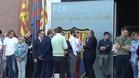 El Barça secunda la parada de las entidades soberanistas contra el encarcelamiento de Sánchez y Cuixart