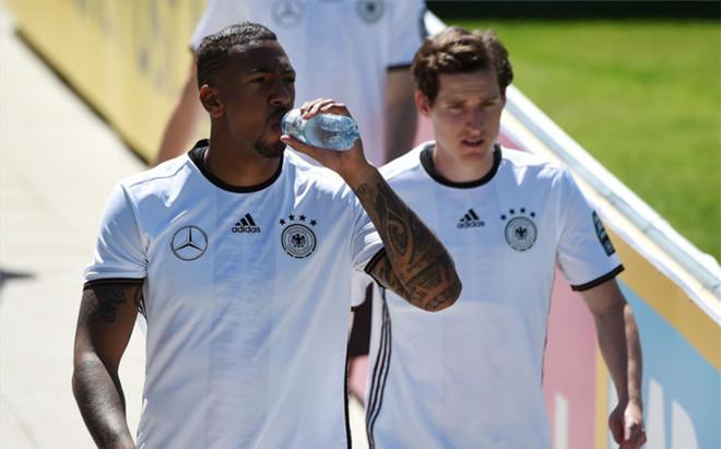 Boateng est� concentrado con Alemania