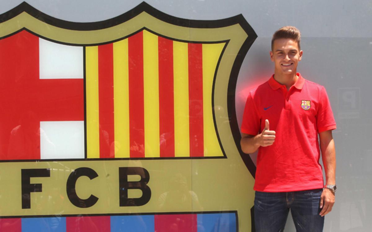 Denis su rez quiero triunfar en el fc barcelona for Oficinas fc barcelona