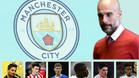 La lista de fichajes de Guardiola para el City