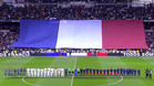 Homenaje a las 129 víctimas de París