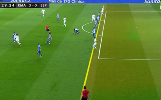 Hab a fuera de juego en el gol de james rodr guez for Fuera de juego real madrid
