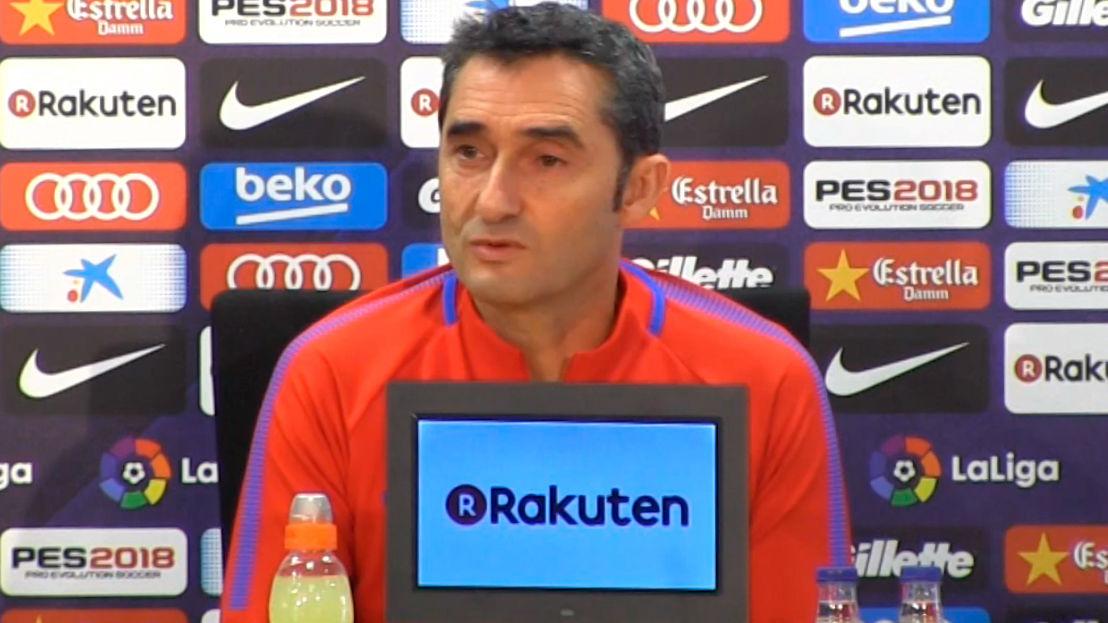 Las peticiones de Valverde a Deulofeu