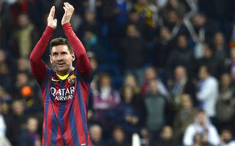 Messi, el mejor del partido