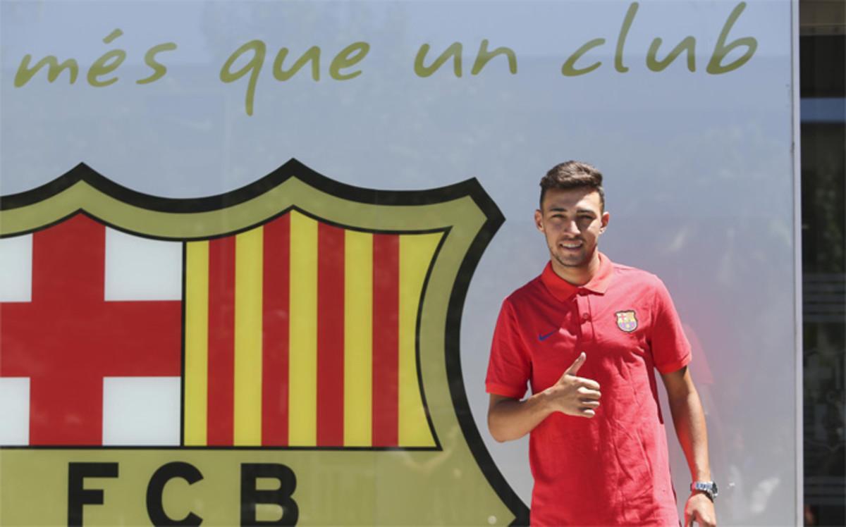 Munir renueva por el fc barcelona hasta 2019 for Oficinas fc barcelona