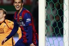 Pedro no ha perdido su eficacia goleadora
