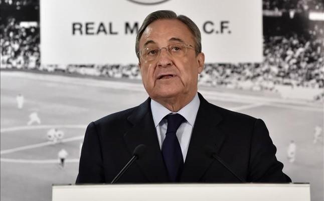 Bị phản đối dữ dội Florentino Perez sẽ từ chức