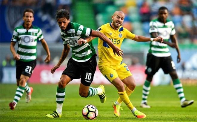 El Sporting se impuso al Porto en el derbi luso