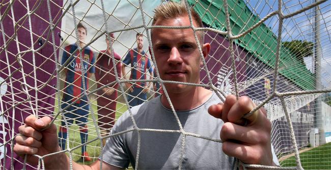 Ter Stegen analiz� su primera temporada en el FC Barcelona