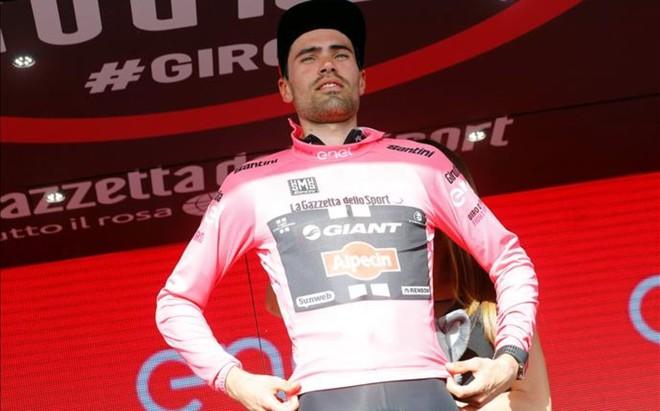 Tom Boonen no sufri� fracturas tras caerse en la cuarta etapa del Eneco Tour