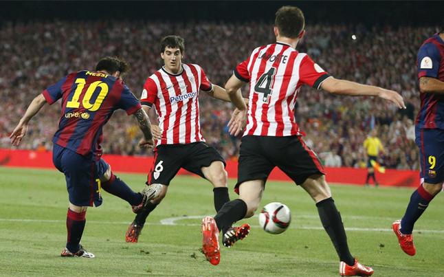 Todos los precedentes del Athletic Club - FC Barcelona en Copa del Rey