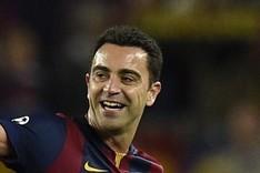 Xavi marc� el cuarto gol al Getafe