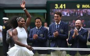 Serena Williams se sintió aliviada tras lograr el título en Wimbledon
