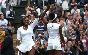 Serena y Venus Williams ganaron su sexto título en común en Wimbledon