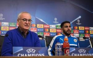 Ranieri y Mahrez