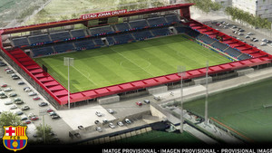 Estadi Johan Cruyff, sede donde jugará el filial azulgrana en el futuro