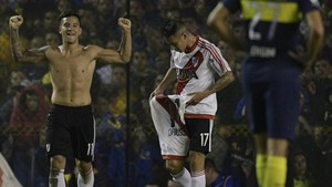 Driussi marcó el gol definitivo para River