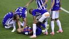 Mascheranos sufrió una conmoción tras chocar con Marcos Llorente