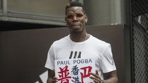 Paul Pogba publicó en Twitter un mensaje de apoyo a Donnarumma