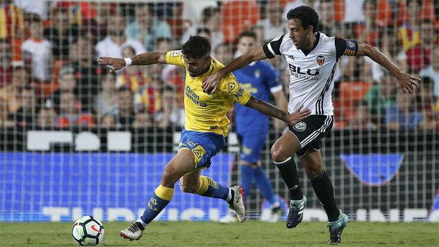 Vídeo Resumen Valencia - Las Palmas (1-0). Jornada 1 de la Liga Santander 2017-18