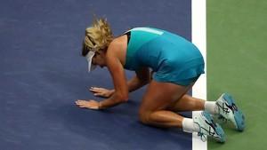 Coco Vandeweghe, eufórica tras su victoria