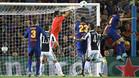 El Barça recibió a la Juventus en el Camp Nou