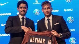 Neymar ha dejado claro a Al-Khelaifi que su relación con Cavani está rota