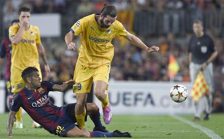 Alves reconoci� que el triunfo no fue f�cil