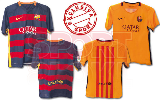 Filtran imágenes reales de las nuevas camisetas Nike del FC Barcelona para  la próxima temporada 7c32927a9e4