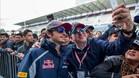 Carlos Sainz se mostró más que satisfecho tras la calificación del GP de México