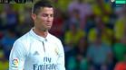 �Cristiano Ronaldo se enfada al ser sustituido!