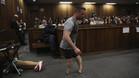 Pistorius, en el juicio en Pretoria