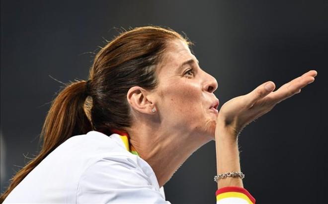 Ruth Beitia sum� su segundo diamante tras su victoria en la reuni�n de Par�s