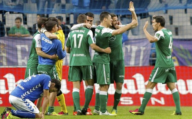 La victoria en Oviedo permite al Legan�s depender de s� mismo para lograr el ascenso directo