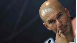 Zidane no habló del gol anulado a Messi en Mestalla