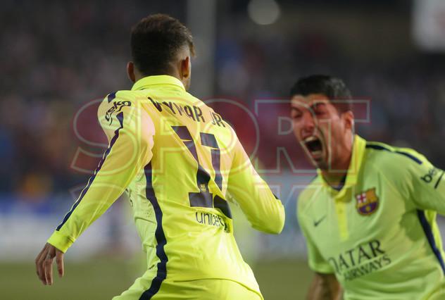 صور : مباراة أتليتيكو مدريد - برشلونة 2-3 ( 28-01-2015 )  1422483177385
