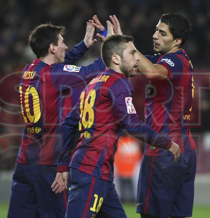 صور : مباراة برشلونة - فياريال 3-1 ( 11-02-2015 ) 1423690343585