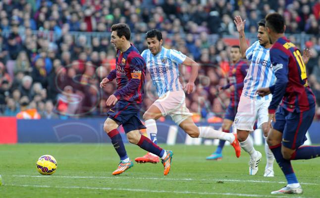 صور : مباراة برشلونة - ملقا  0-1 ( 21-02-2015 )  1424541252585