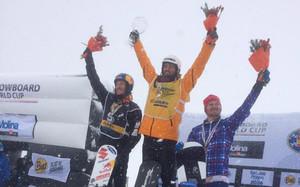 Lucas Eguibar entra en la historia del esquí español